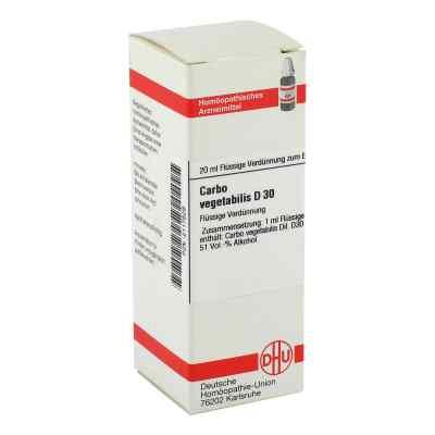 Carbo Vegetabilis D30 Dilution  bei apo-discounter.de bestellen