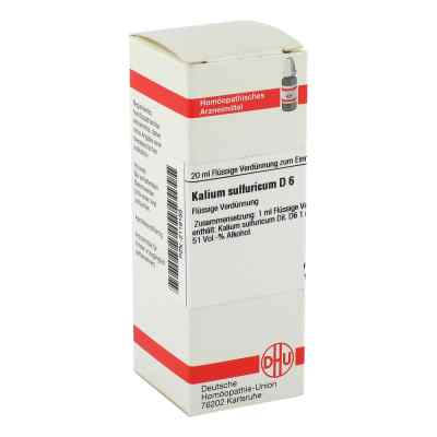 Kalium Sulfuricum D6 Dilution  bei apo-discounter.de bestellen