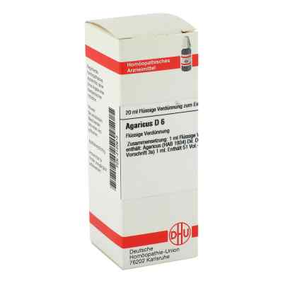 Agaricus D6 Dilution  bei apo-discounter.de bestellen