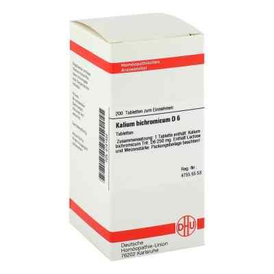 Kalium Bichromicum D6 Tabletten  bei apo-discounter.de bestellen