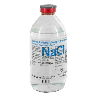 Kochsalzlösung 0,9% Glasflasche
