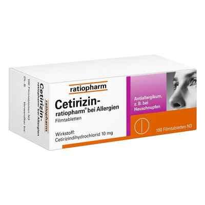 Cetirizin-ratiopharm bei Allergien  bei apo-discounter.de bestellen