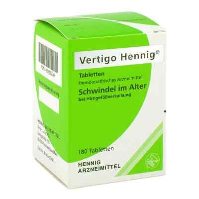 Vertigo Hennig Tabletten  bei apo-discounter.de bestellen