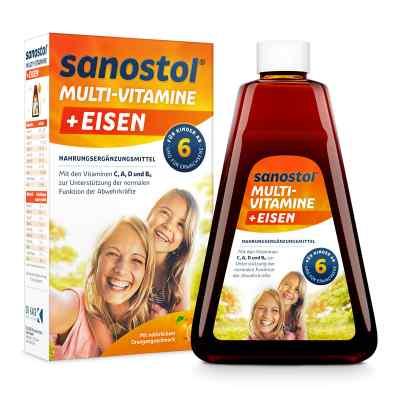 Sanostol plus Eisen Saft  bei apo-discounter.de bestellen