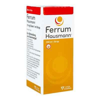 Ferrum Hausmann 50mg Eisen/5ml  bei apo-discounter.de bestellen