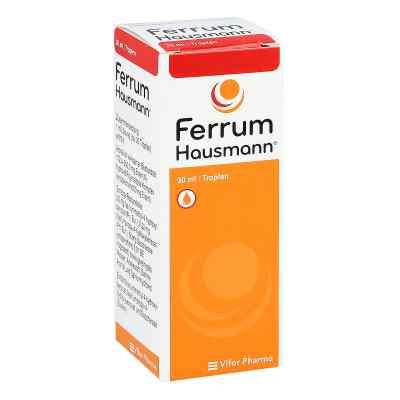 Ferrum Hausmann 50mg Eisen/ml Lösung  bei bioapotheke.de bestellen