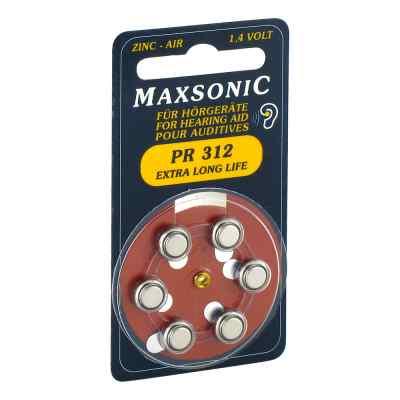 Batterien für Hörgeräte Maxsonic Pr312  bei apo-discounter.de bestellen