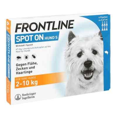 Frontline Spot on Hund 10 veterinär Lösung gegen Flöhe und Zecke  bei apo-discounter.de bestellen