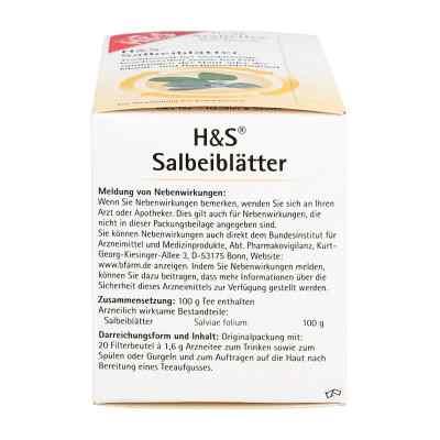 H&S Salbeiblätter  bei apo-discounter.de bestellen