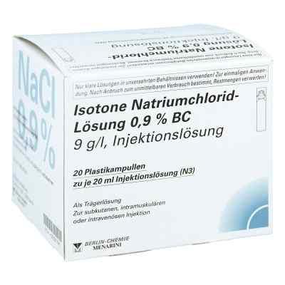 Isotone Nacl Lösung 0,9% Bc Plastik iniecto -lösung