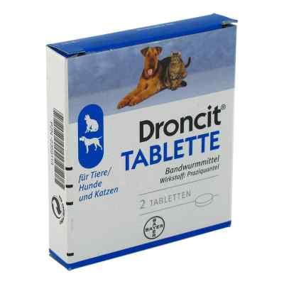 Droncit Tabletten für Hunde/katzen  bei apo-discounter.de bestellen