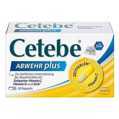 Cetebe Abwehr plus Vitamin C+vitamin D3+zink Kapsel (n)  bei apo-discounter.de bestellen