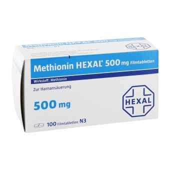 Methionin Hexal 500 mg Filmtabletten  bei apo-discounter.de bestellen