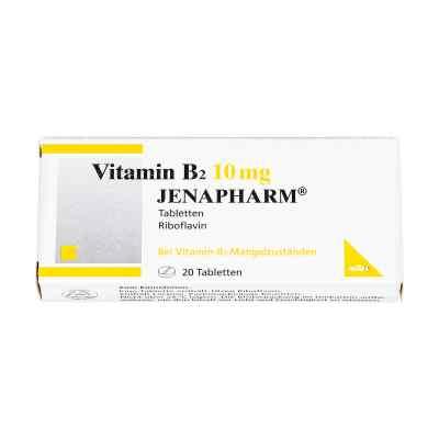 Vitamin B2 10 mg Jenapharm Tabletten  bei apo-discounter.de bestellen