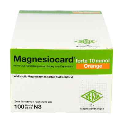 Magnesiocard forte 10 mmol Orange Pulver  bei apo-discounter.de bestellen