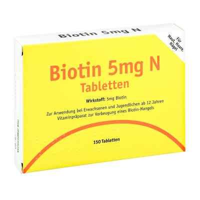 Biotin 5 mg N Tabletten  bei apo-discounter.de bestellen