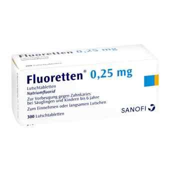 Fluoretten 0,25mg  bei apo-discounter.de bestellen