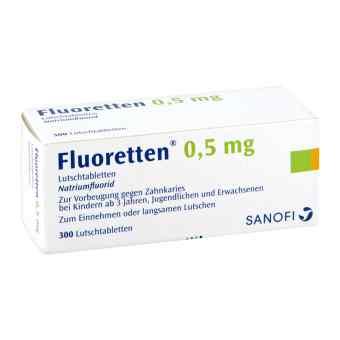Fluoretten 0,5mg bei apo-discounter.de bestellen
