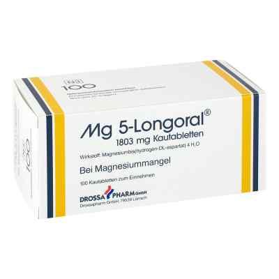 Mg 5 Longoral Kautabletten  bei apo-discounter.de bestellen