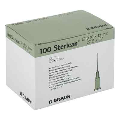 Sterican Ins.einm.kan.27gx1/2 0,40x12 mm  bei apo-discounter.de bestellen