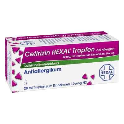 Cetirizin HEXAL bei Allergien 10mg/ml  bei apo-discounter.de bestellen