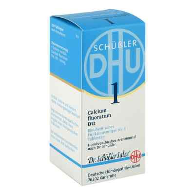 Biochemie Dhu 1 Calcium fluorat.D 12 Tabletten  bei apo-discounter.de bestellen