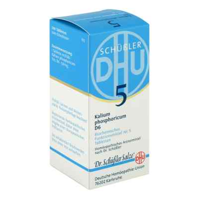 Biochemie Dhu 5 Kalium phosphorus D  6 Tabletten  bei apo-discounter.de bestellen