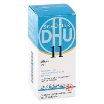Biochemie Dhu 11 Silicea D 6 Tabletten  bei apo-discounter.de bestellen