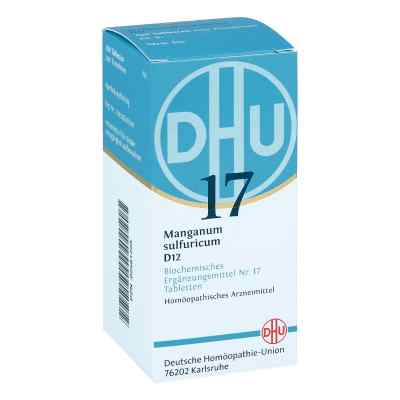 Biochemie Dhu 17 Manganum sulfuricum D 12 Tabletten   bei apo-discounter.de bestellen