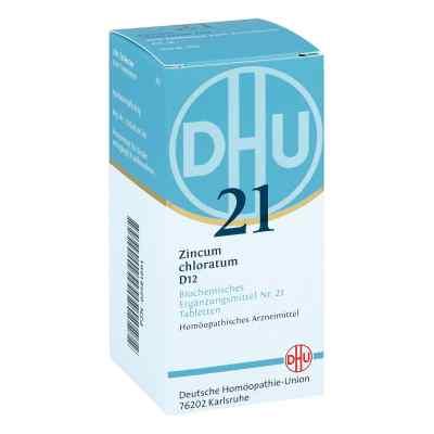 Biochemie Dhu 21 Zincum chloratum D 12 Tabletten  bei apo-discounter.de bestellen
