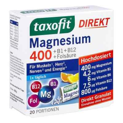 Taxofit Magnesium 400+b1+b6+b12+folsäure 800 Granulat  bei apo-discounter.de bestellen