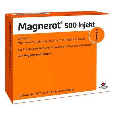 Magnerot 500 Injekt Ampullen  bei apo-discounter.de bestellen