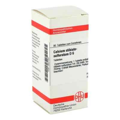 Calcium Stibiato Sulfuratum D6 Tabletten  bei apo-discounter.de bestellen