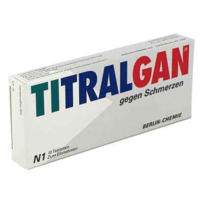 TITRALGAN gegen Schmerzen