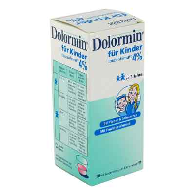 Dolormin fuer Kinder 4% Ibuprofen Suspension