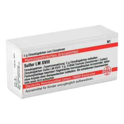 Lm Sulfur Xviii Globuli  bei apo-discounter.de bestellen