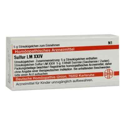 Lm Sulfur Xxiv Globuli  bei apo-discounter.de bestellen