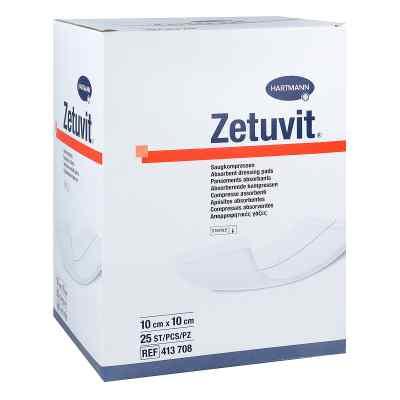Zetuvit Saugkompresse steril 10x10 cm  bei apo-discounter.de bestellen