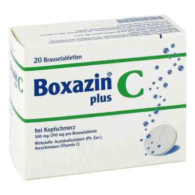 Boxazin plus C bei Kopfschmerz