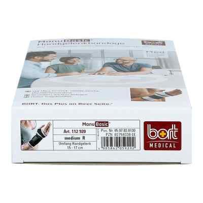 Bort Manubasic Bandage rechts medium schwarz  bei apo-discounter.de bestellen