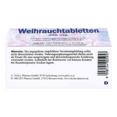 Weihrauch 400 mg Tabletten  bei apo-discounter.de bestellen