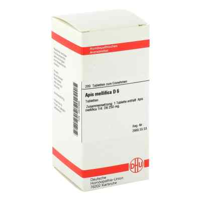 Apis Mellifica D6 Tabletten  bei apo-discounter.de bestellen