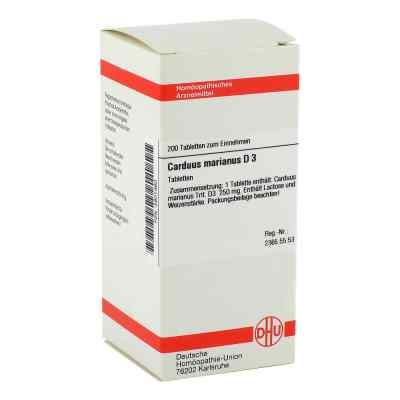 Carduus Marianus D3 Tabletten  bei apo-discounter.de bestellen