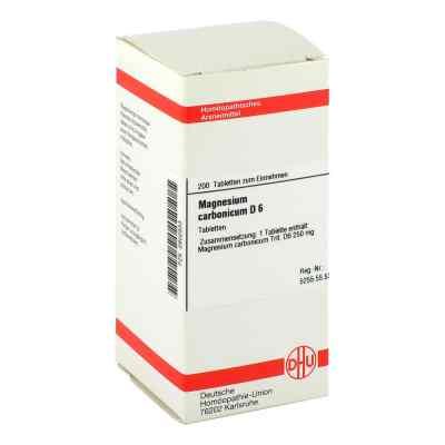 Magnesium Carbonicum D6 Tabletten  bei apo-discounter.de bestellen