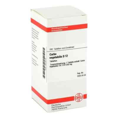 Carbo Vegetabilis D12 Tabletten  bei apo-discounter.de bestellen