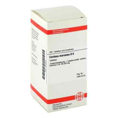 Carduus Marianus D6 Tabletten  bei apo-discounter.de bestellen