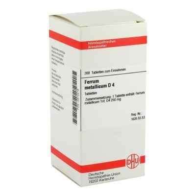 Ferrum Metallicum D4 Tabletten  bei apo-discounter.de bestellen