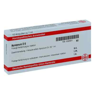 Apocynum D6 Ampullen  bei apo-discounter.de bestellen