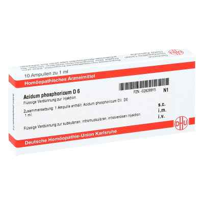 Acidum Phosphoricum D6 Ampullen  bei apo-discounter.de bestellen