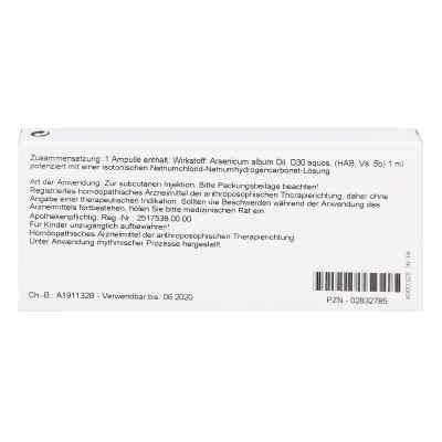 Arsenicum Album D30 Ampullen  bei apo-discounter.de bestellen